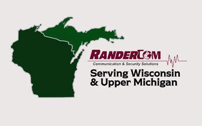 RanderCom's Service Area – Wisconsin and Upper Michigan